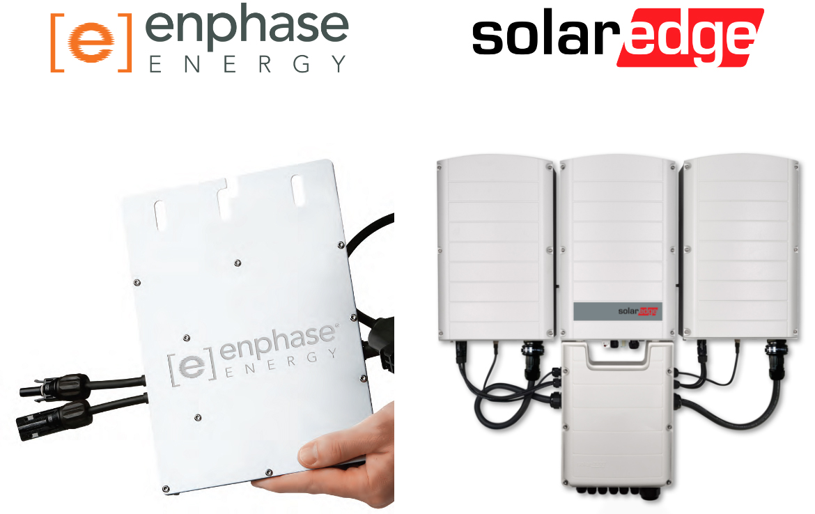 Enphase Energy et SolarEdge