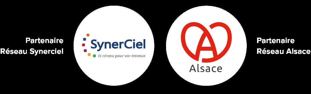 Logo Réseaux Partenaires Alsace Synerciel